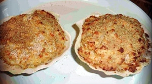 recette coquilles crabe tourteau