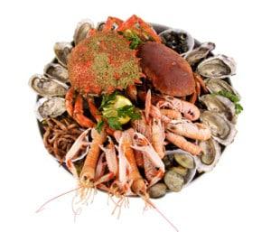 composition plateau fruits de mer