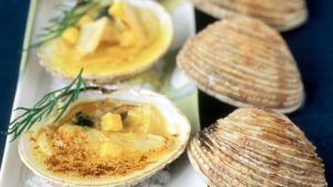 praires farcies recette beurre à farcir les coquillages