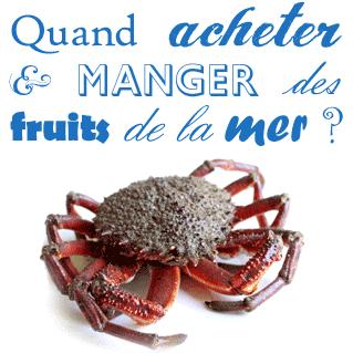 quand acheter manger fruits mer saison période prix