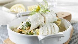 recette filets de sole aux coques