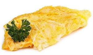 recette omelette crabe tourteau araignée