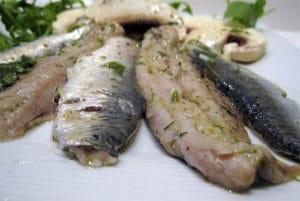 filets sardines marinés citron recette facile marinade recipe sardina pilchard
