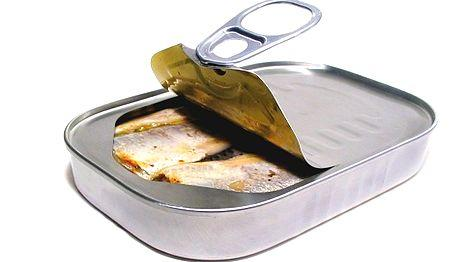 sardine conserve à l'ancienne huile sardina pilchard