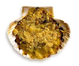 recette coquille saint jacques bretonne chapelure recipe