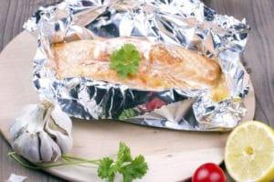 recette papillote saumon darne pavé facile
