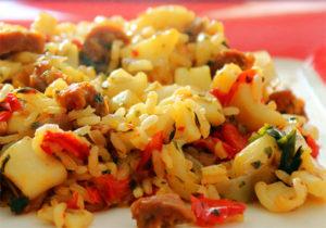 recette risotto calamars