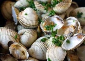 coques marinière recette