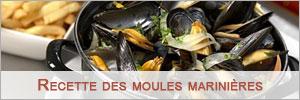 recette moules marinières facile